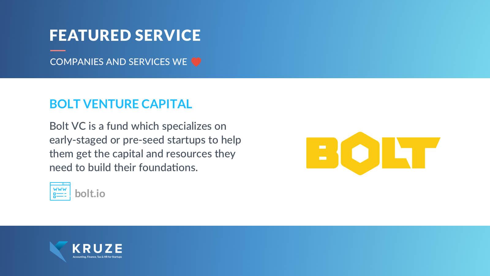 Featured Service - Bolt Venture Capital
