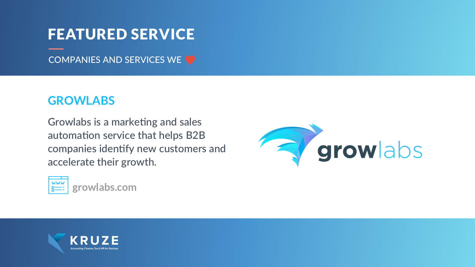 Featured Service - Growlabs