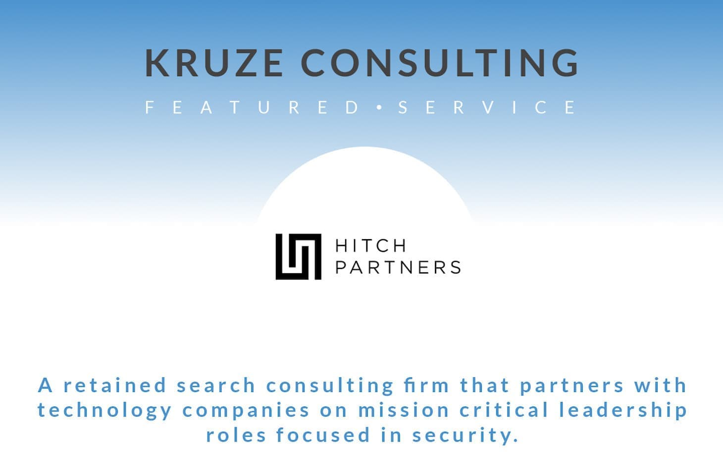 Featured Service - Hitch Partners