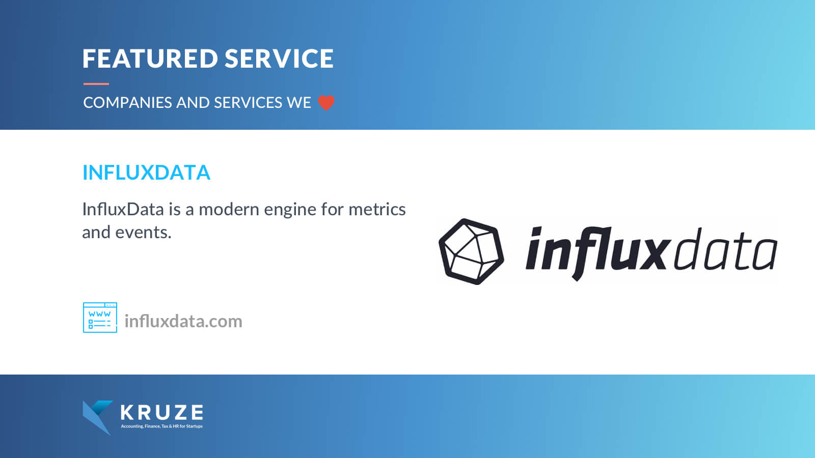 Featured Service - InfluxData
