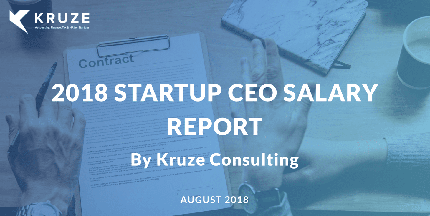 Startup CEO Salary Report