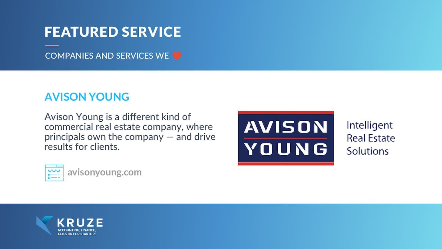 Featured Service - Avison Young