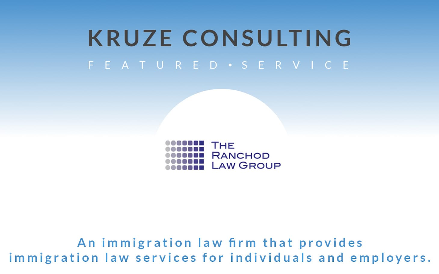 Featured Service - Ranchod Law Group