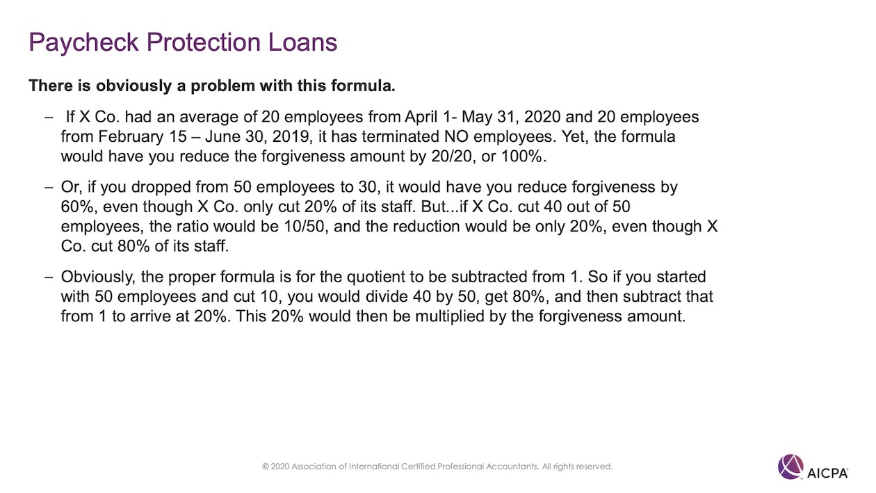 Paycheck Protection Loans p47