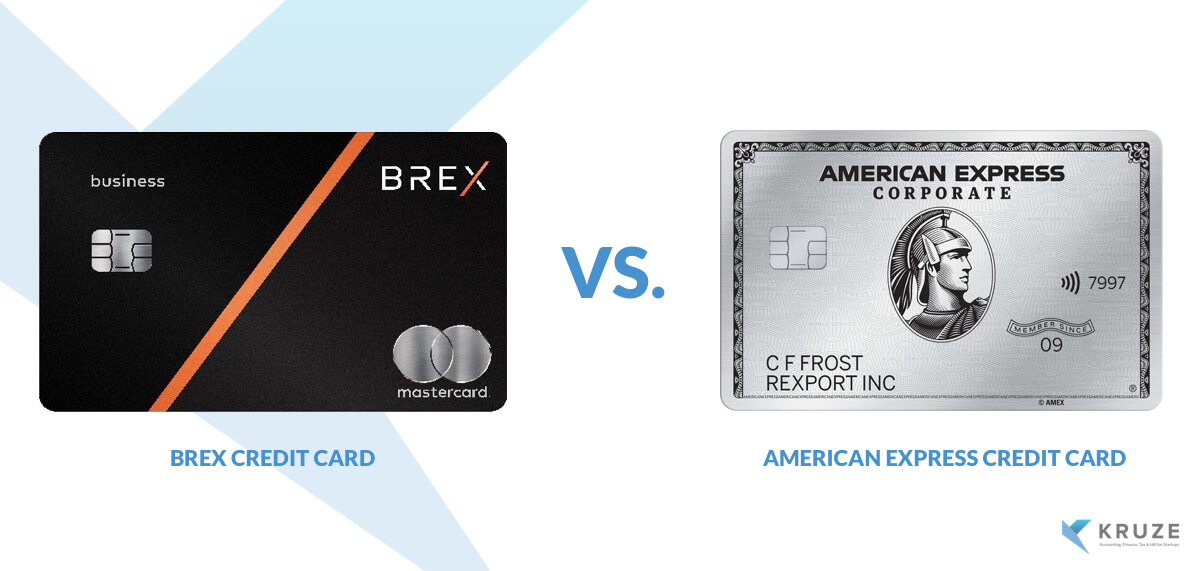 Brex vs American Express -  Which credit card is best for startups?