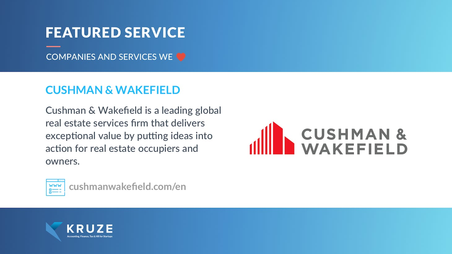 Featured Service - Cushman & Wakefield