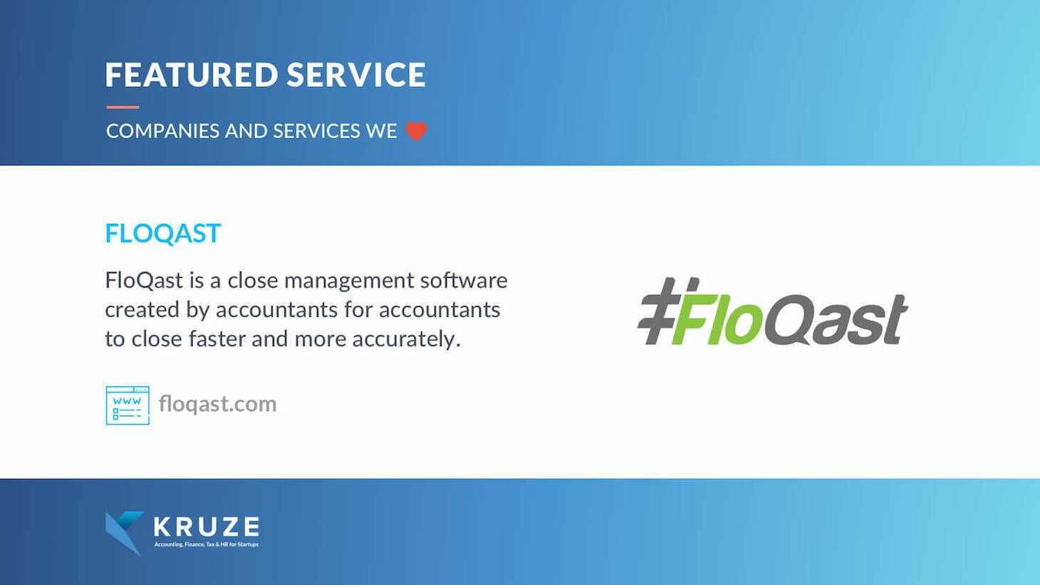 Featured Service - FloQast