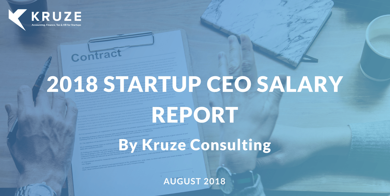 2018 Startup CEO Salary Report