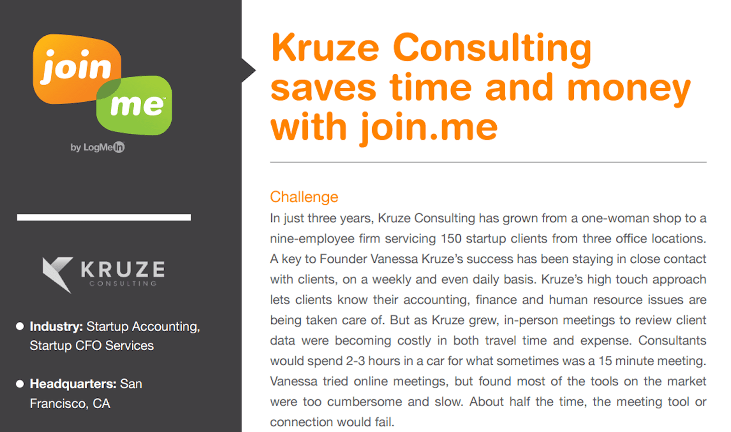 Join.Me Features Kruze Consulting Startup Accounting Firm