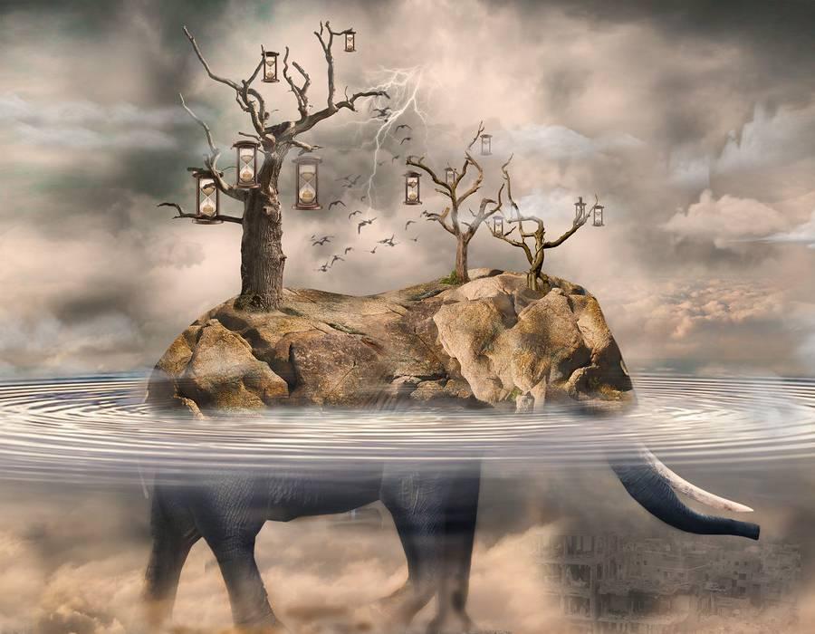 the ELEPHANT - great destruction