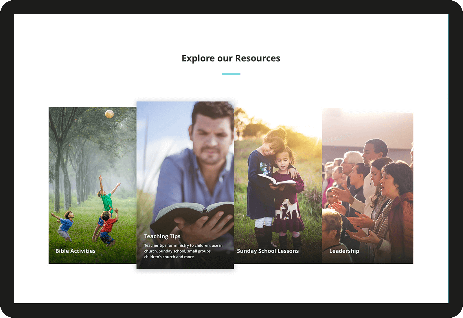 Children's Ministry - Explore our Resources