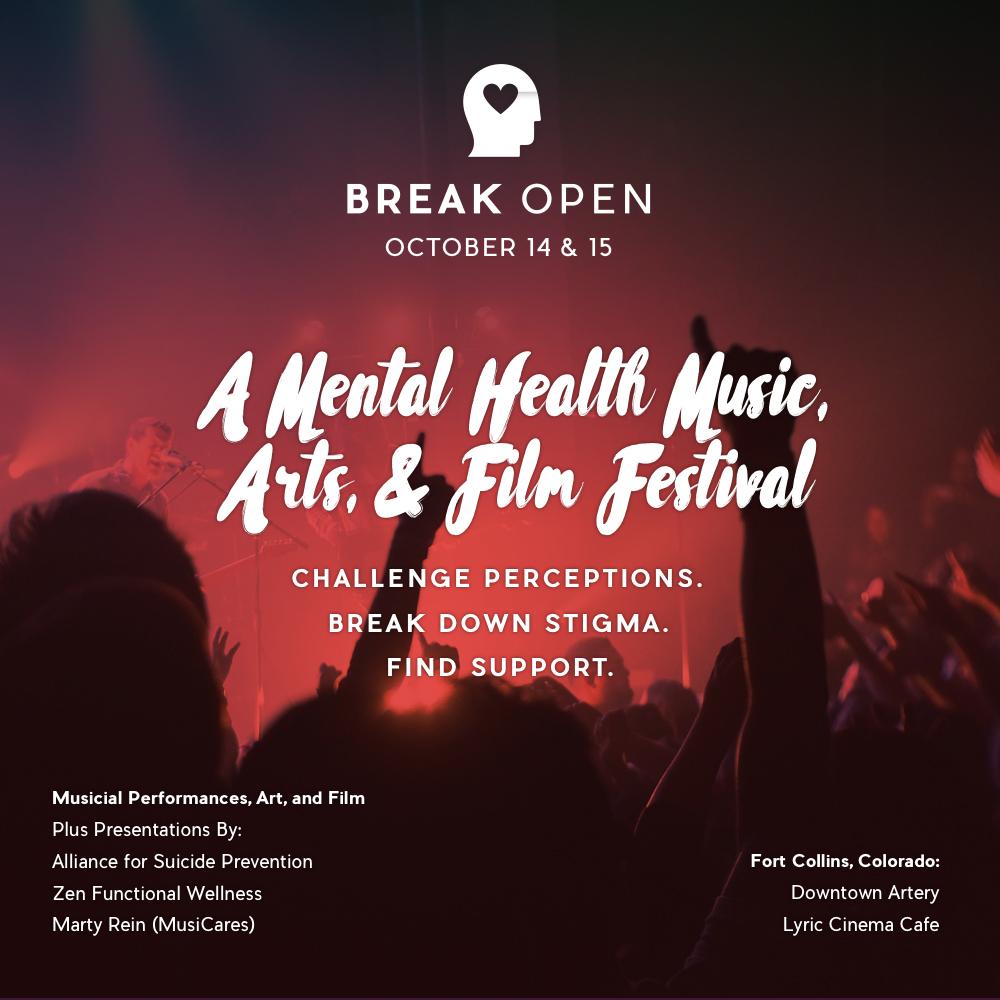 Break Open - Event Art