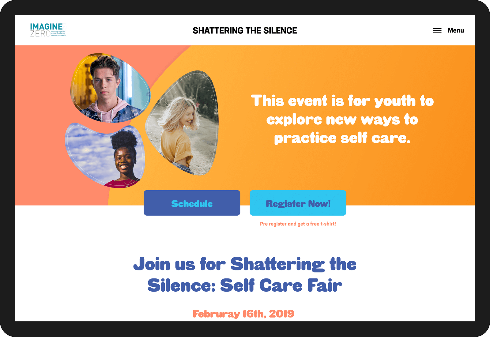 Shattering the Silence: Self Care Fair