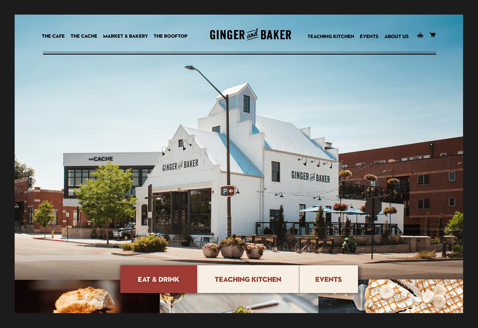 Ginger and Baker Wordpress Development