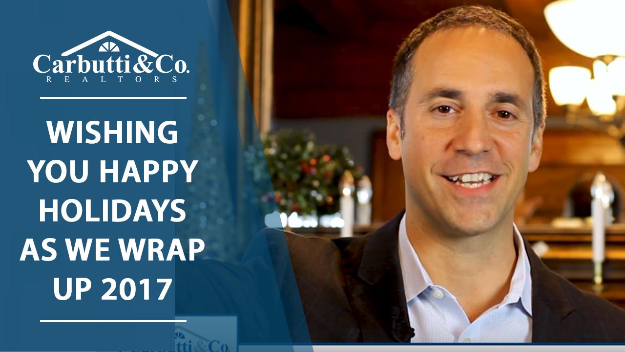 We Hope You're Enjoying the Holiday Season
