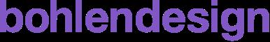 Logotype bohlendesign Grafikdesign Webentwicklung Jekyll