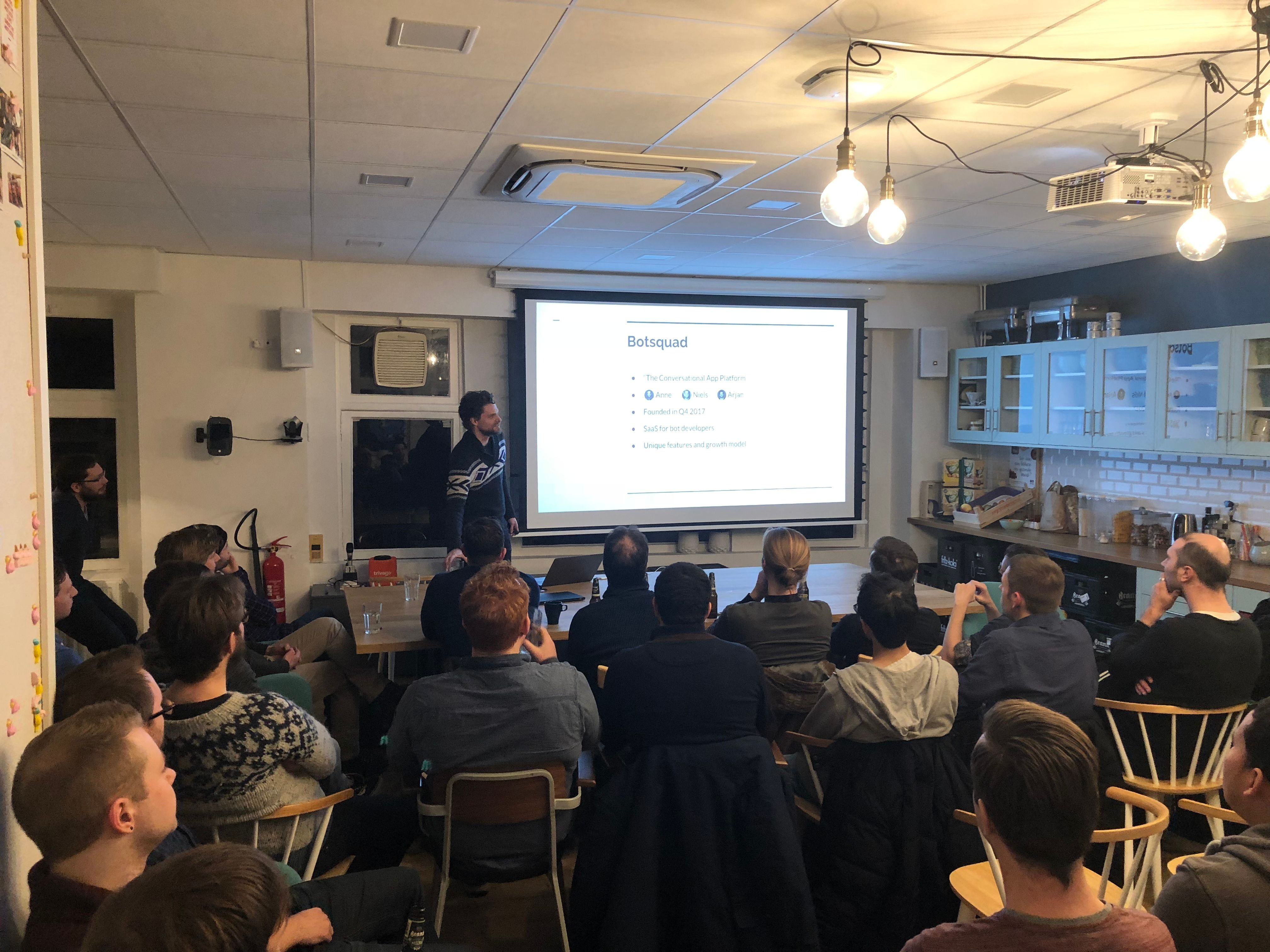 Presenting at the Elixir.AMS meetup