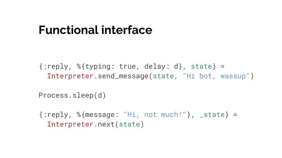Bubblescript interpreter functions