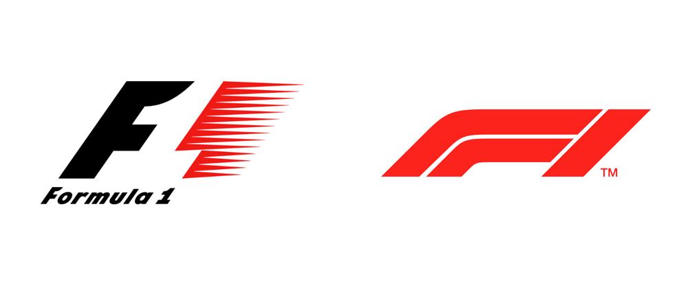 New Formula One logotype design