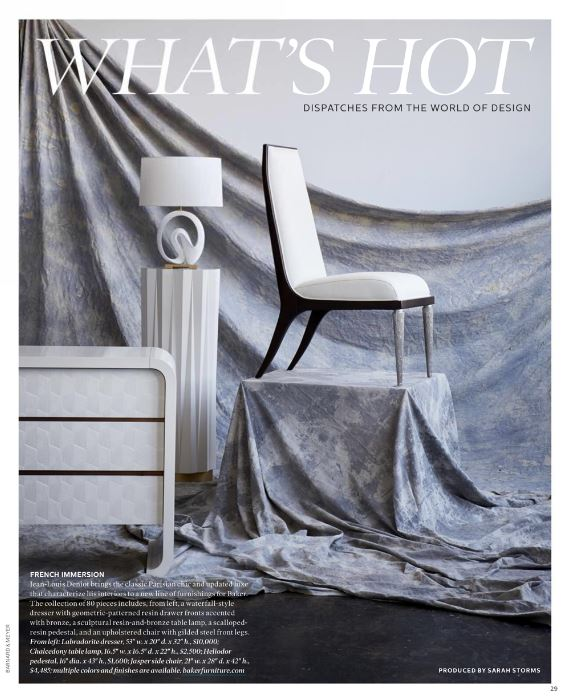 Jean-Louis Deniot designt für Baker Furniture