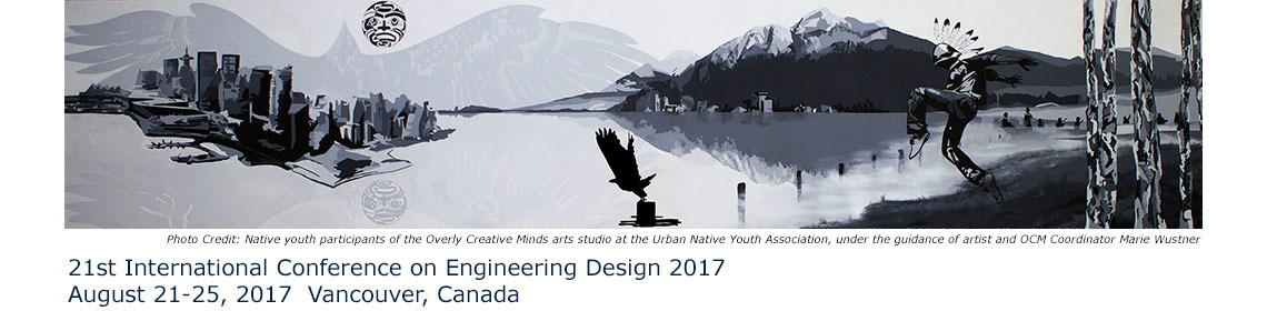 21st International Conference On Engineering Design Iced 2017