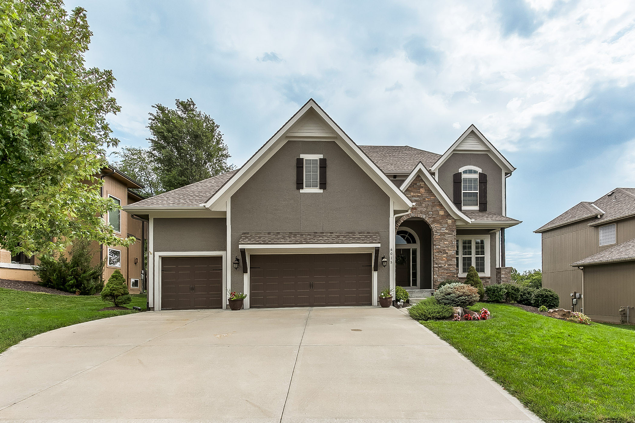 NEW ON THE MARKET ~ BETTER THAN NEW! Gorgeous 6 Bedroom Shawnee Home with Office!