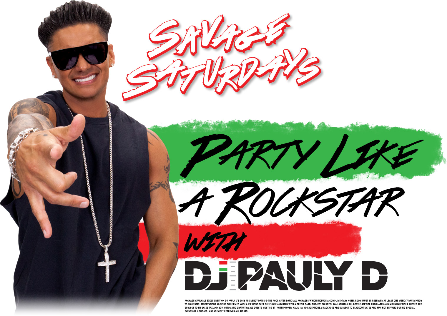 Party Like DJ Pauly D | The Pool After Dark