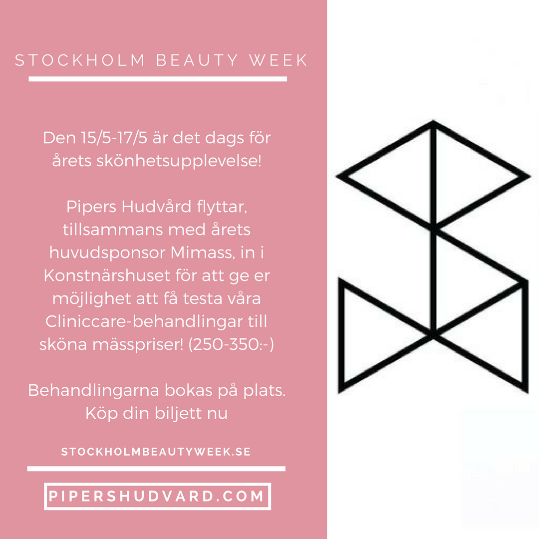 Stockholm Beauty Week 15/5-17/5