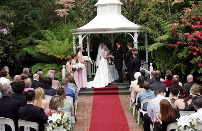 Weddings at Lyrebird Falls