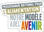 Logo du Programme National pour l'Alimentation: Notre modèle à de l'avenir