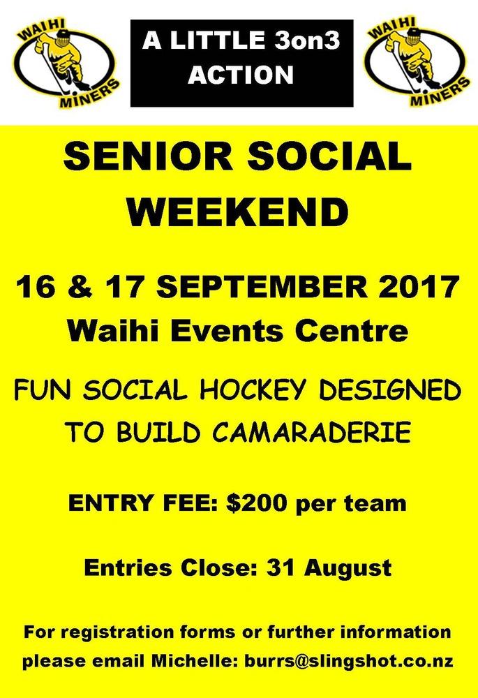 Miners Senior Social Tournament 2017