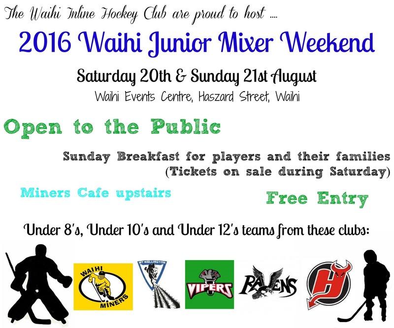 Junior Mixer Tournament 2016 - Update