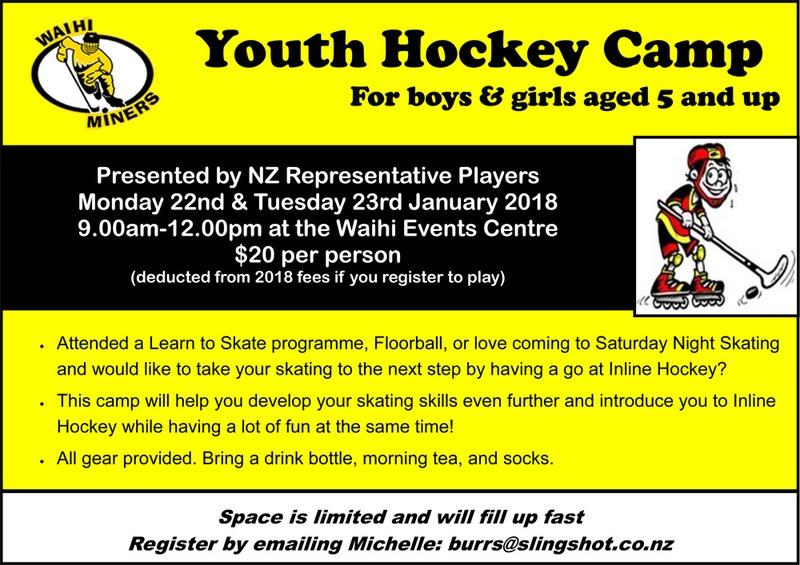 Youth Hockey Camp