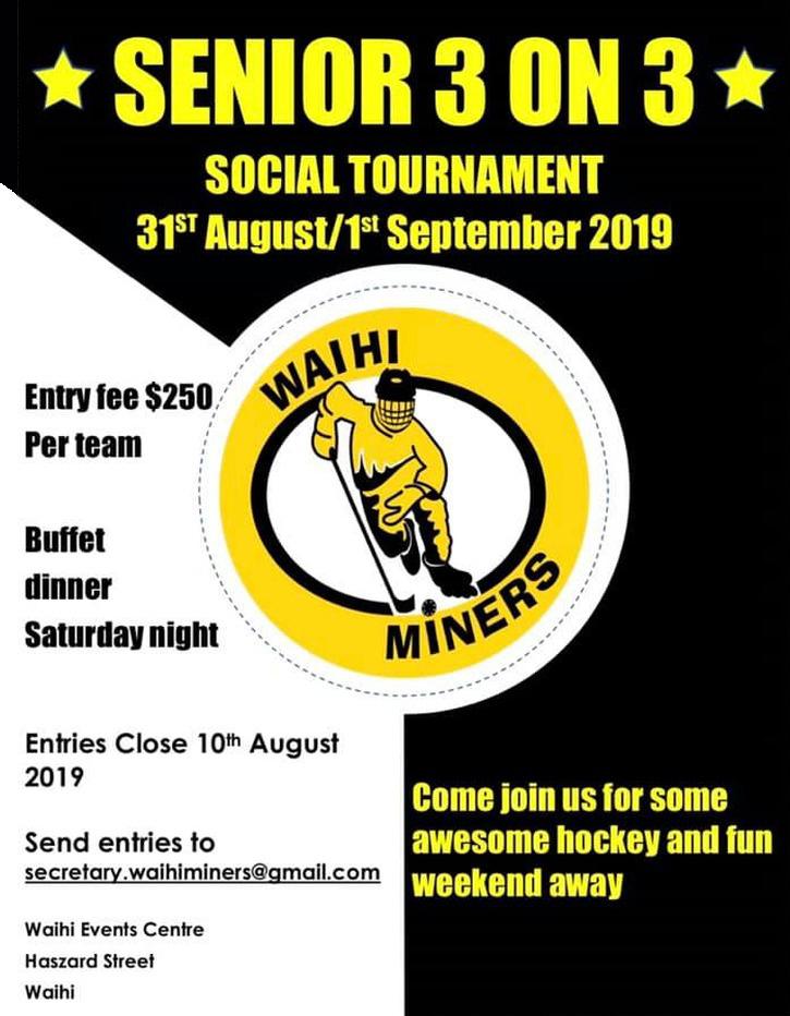 Miners Senior 3 On 3 Social Tournament