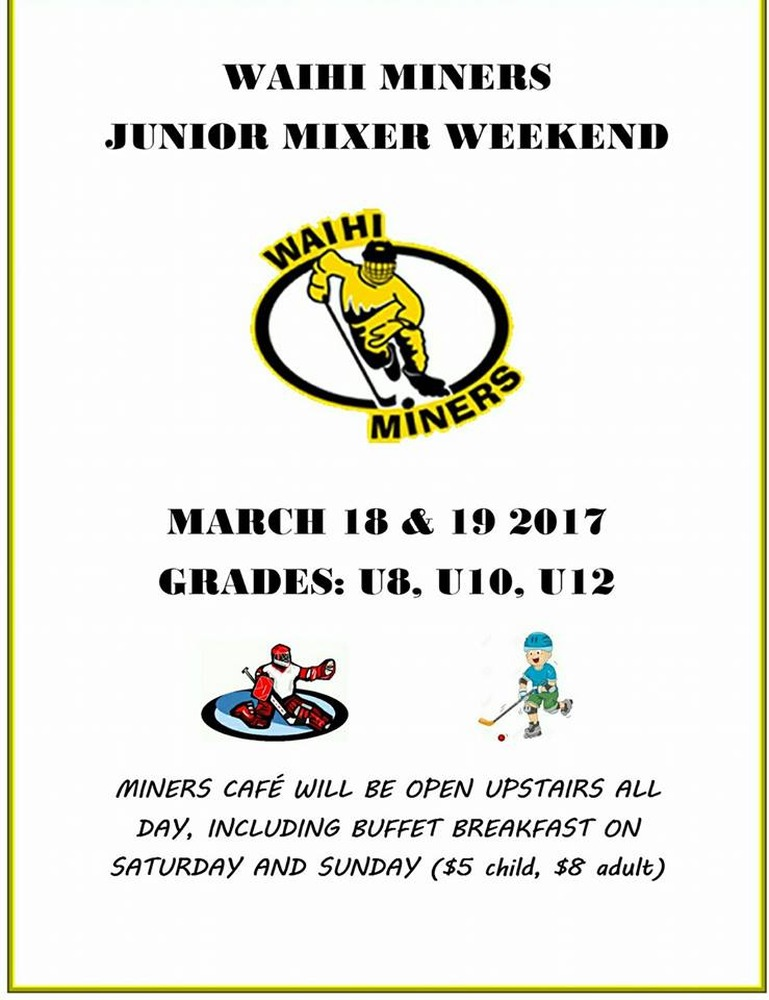 Junior Mixer Weekend 18th -19th March 2017