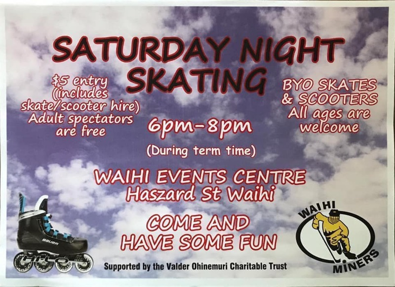 Saturday Night Skating is on again!