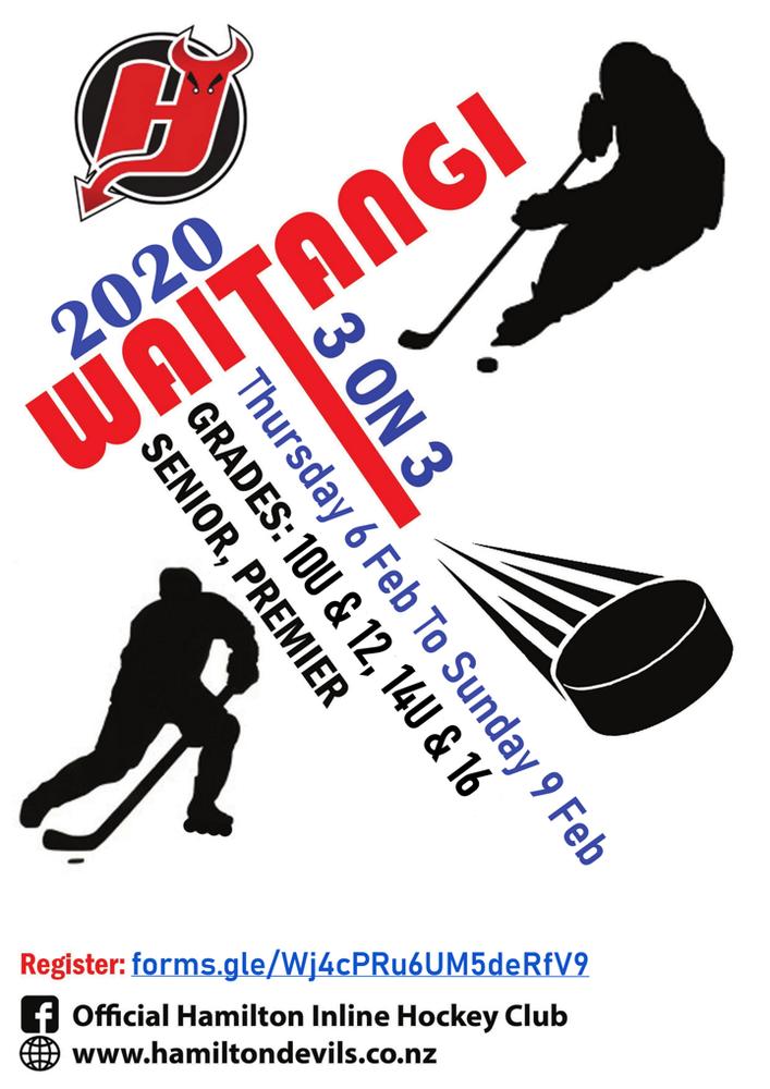 2020 Hamilton Devils Waitangi Weekend 3 on 3