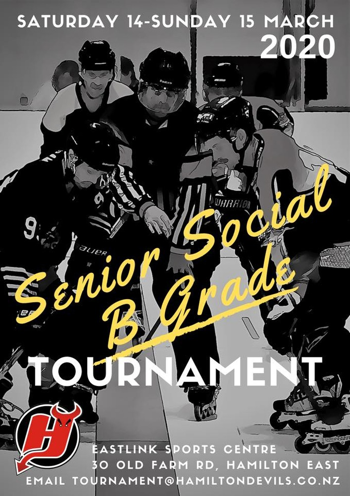 Senior Social / B Grade Tournament - March 2020