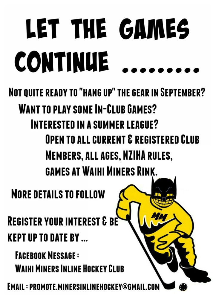 Interested in a Summer League?