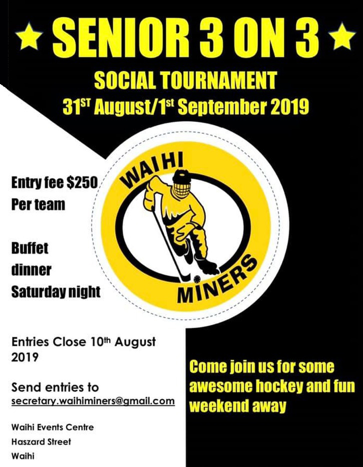 Miners Senior 3 On 3 Social Tournament