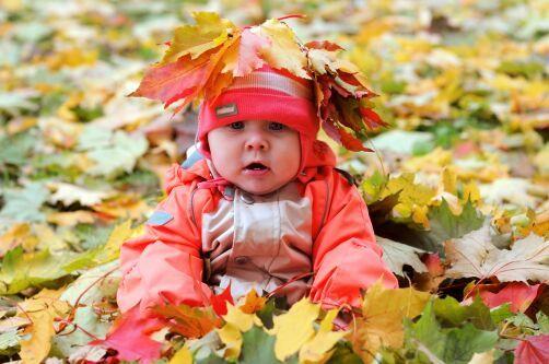 Как одеть ребёнка  по погоде