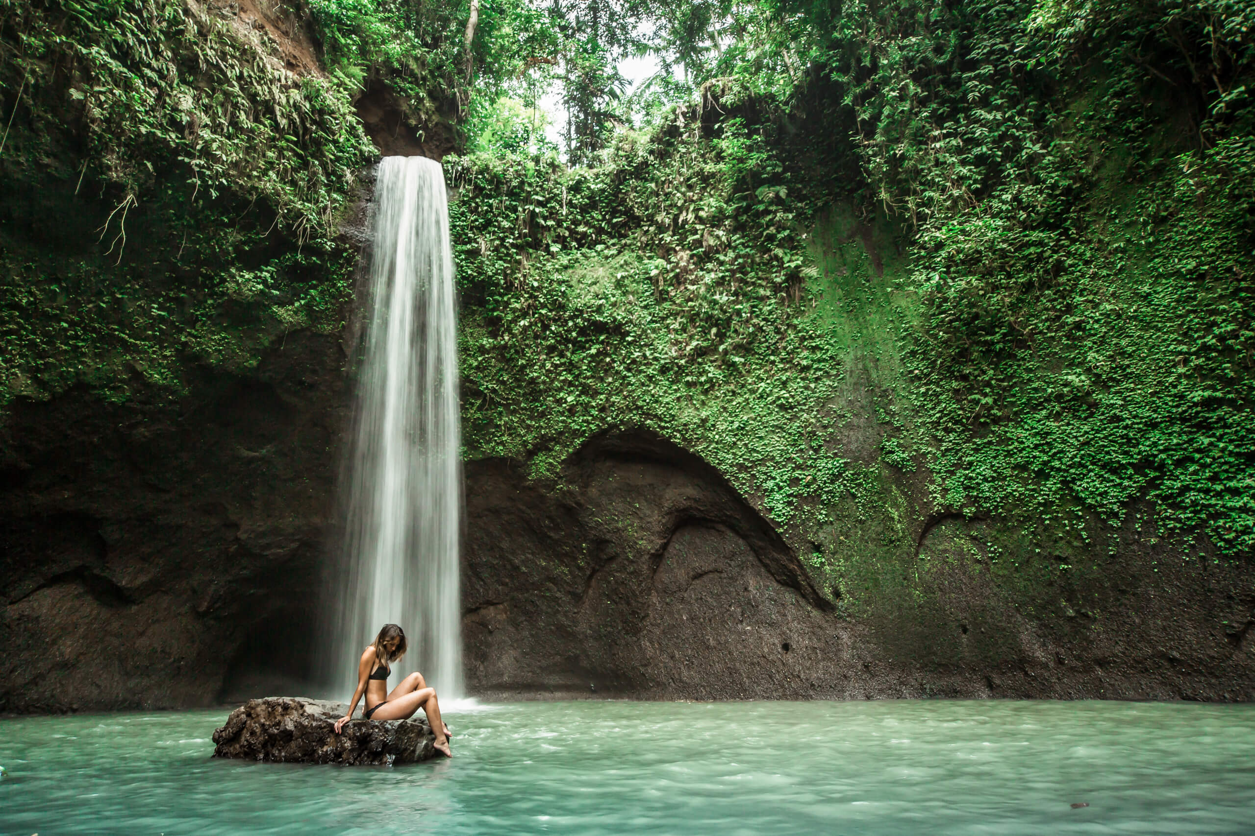 TIBUMANA WATERFALL   Paradise found… the perfect waterfall