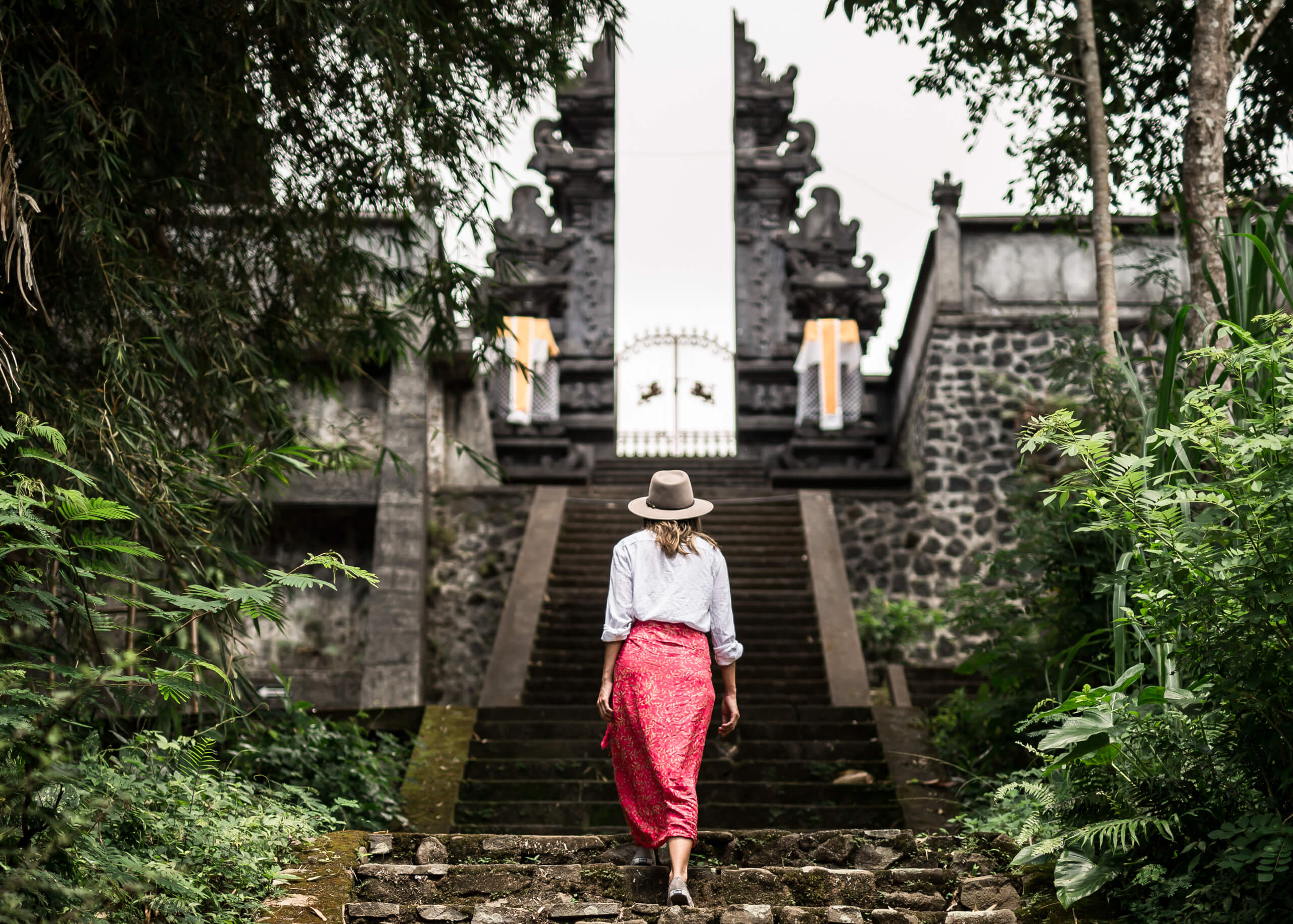 LEMPUYANG TEMPLE | It pays to pay a guide so you dont walk up 100 stairs to find a locked gate!