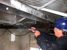 Warehouse pressure washing Edmonton