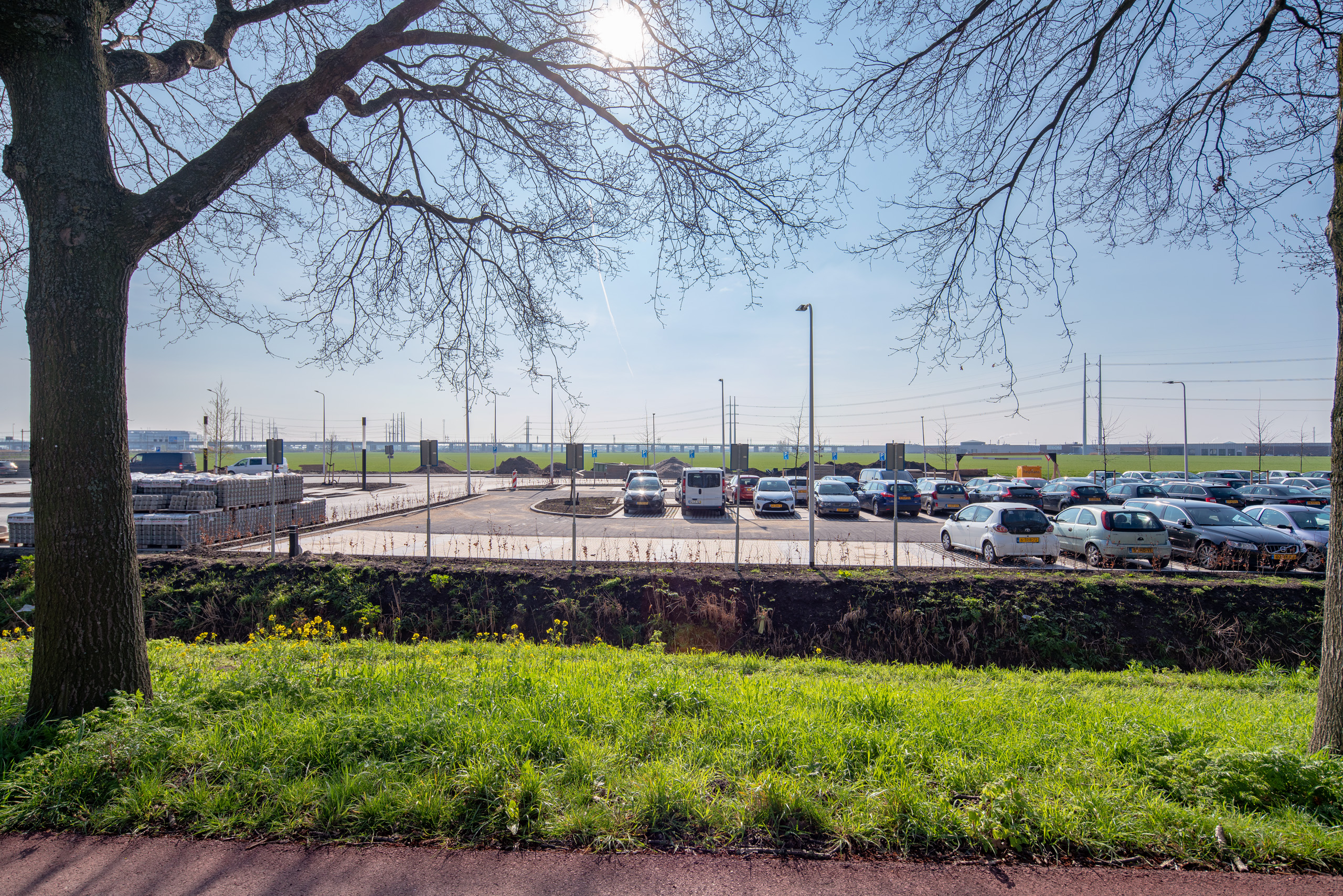 Afbeelding parkeerruimte Bleizo
