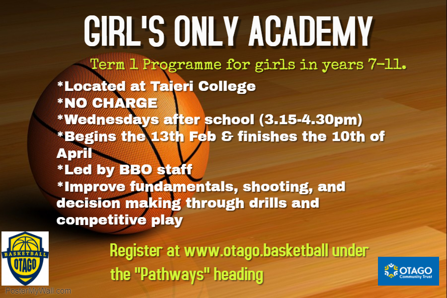 Girls Only Academy Term 1
