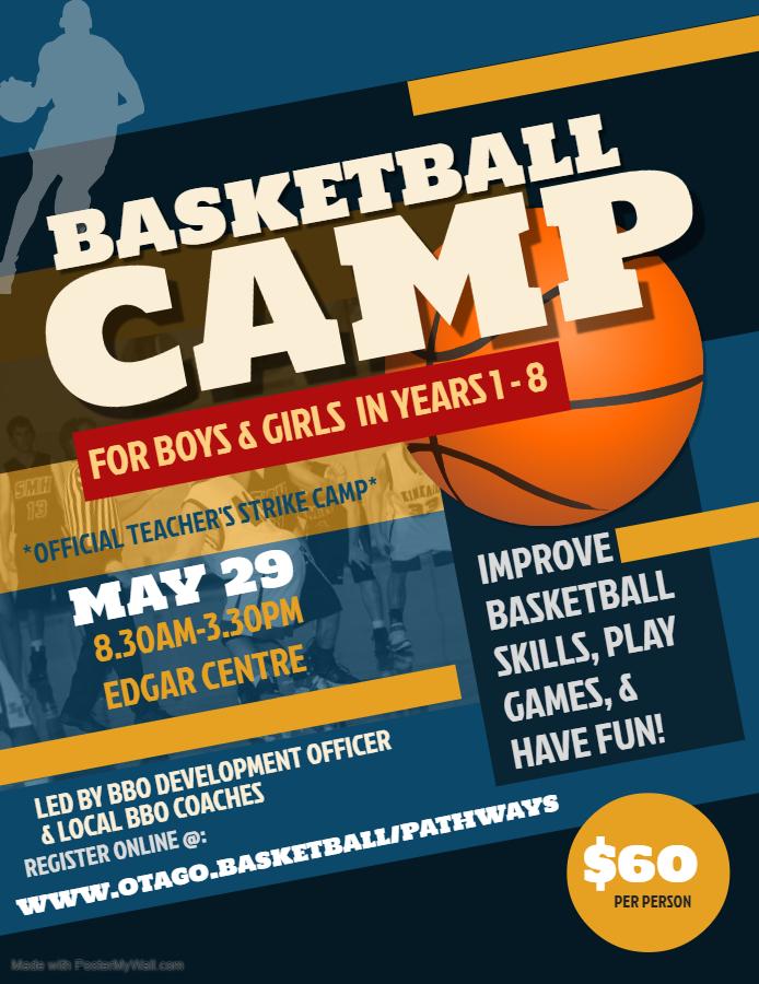 Teachers Strike Lets Play Basketball Camp