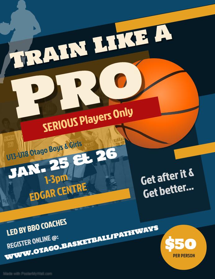 Train Like A Pro Camp