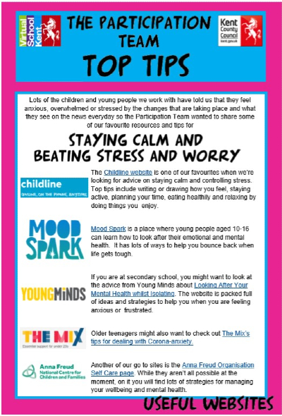 Top Tips for Beating Stress and Worry