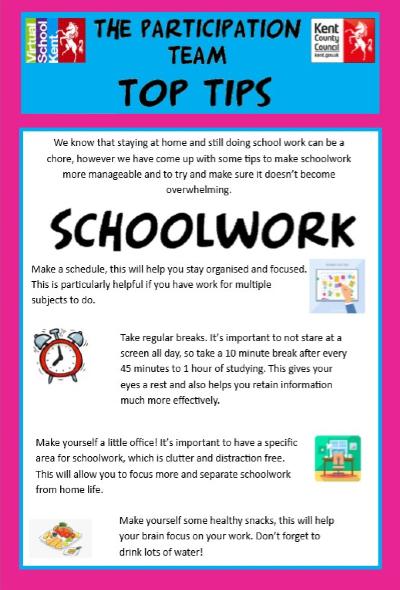 Top Tips for School Work